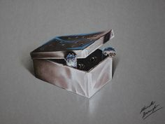 Gizmo - the Mogwai from Gremlins - in his box by marcellobarenghi.deviantart.com on @deviantART