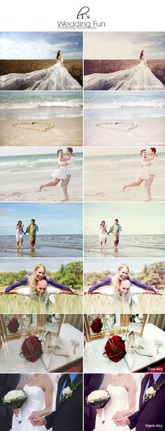 Photoshop actions for wedding pics! I just like it for the photo ideas...still…