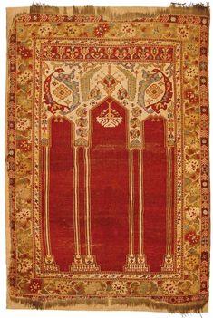 Transylvania's carpet treasures come to Gdansk, Poland - HALI PRAYER RUG