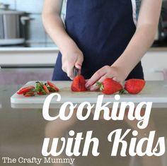 Kids Cooking: Fruit & Masterchef {via TheCraftyMummy}