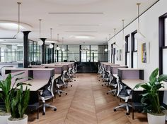 Open office | open plan office at Canopy Coworking Space – San Francisco
