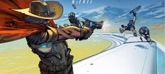 Overwatch's first comic tells the story of bounty hunter McCree - Polygonclockmenumore-arrow : You can read it right now