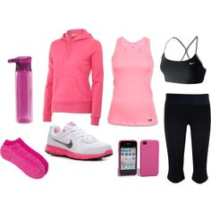 Gym Time, created by lissy-rose-erickson.polyvore.com