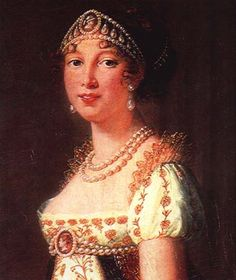 Caroline was not a very important sibling of Napoleon, but she was Queen of Naples and was married to Joachim Murat (King of Naples).