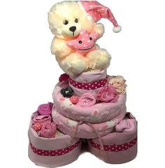 Topsy Turvy Diaper Cake με 3 βάσεις Children, Cake, Young Children, Boys, Kids, Kuchen, Torte, Cookies, Cheeseburger Paradise Pie