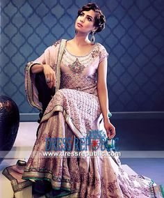Pale Pink Wedding Ensemble Yasmeen Jiwa Bridal wear Collection 2013-14