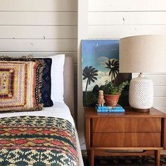 The best thing about cleaning out your closet? Finding kantha quilts that you forgot you even had! Cabin Chic, Kantha Quilt, Dresser As Nightstand, Duvet Sets, Bedroom Colors, Decorating Your Home, Home Furnishings, Decor Styles, Home Accessories