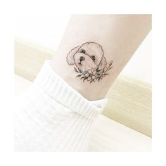 : puppy . . #tattooistbanul #tattoo #tattooing #drawing #puppy #dog #dogtattoo #tattoomagazine #tattooartist #tattoostagram #tattooart #inkstinctsubmission #tattooinkspiration #타투이스트바늘 #타투 #강아지 #개 #그림