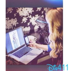 Photo: Dove Cameron Taking A Picture Of Herself On Her Computer July 7, 2014