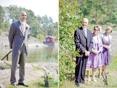 groom & family