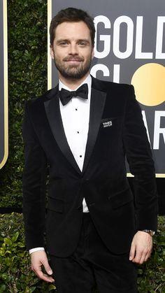 Sebastian Stan #goldenglobes2018