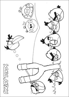 40 Cute Angry Birds Coloring Pages Your Toddler Will Love