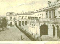 EL Castillo de Chapultepec cuando era residencia presidencial