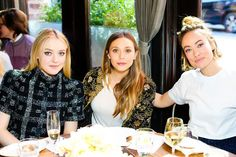Elizabeth Olsen, Dakota Fanning & Olivia Wilde