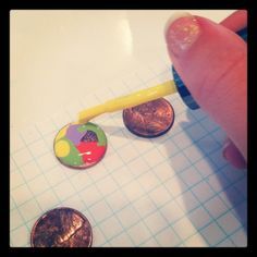 How to paint a lucky penny