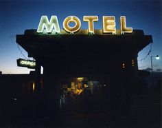 Brooklyn-based photographer Beth Fladung photographs transient spaces and its residents in her series Motel.