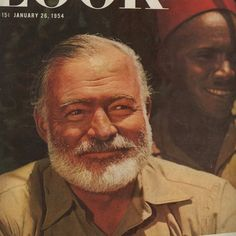 Hemingway Writes On Africa, 1954 by Ernest Hemingway published in LOOK magazine, January 1954 [IMG] Returning after twenty years to the. Earnest Hemingway, Safari Shirt, Thomas Paine, Look Magazine, Henry Miller, Artist Life, Africa, Writing, Pictures