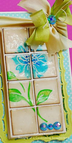 Thoughts of a Cardmaking Scrapbooker!: Faux Tile technique
