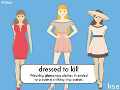 "NEW IDIOM Do you ever get ""dressed to kill""? #english #idiom #clothes #vocabulary #inglés #ropa #vocabulario"