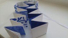"nahtlust » Papierliebe am Montag: Minibuch ""Blau"" Paper, Love, Blue"