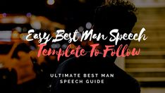 """Delivering a perfect best man wedding speech is a challenging responsibility for many men. While developing such a Best Man's Speech, one of the main dilemmas many """"Best Men"""" face is to decide on whether to crack everyone up or to kee Best Man Wedding Speeches, Best Speeches, Best Man Speech Template, Best Man Speech Examples, Great One Liners, One Liner Jokes, Groom's Speech, Maid Of Honor Speech, Wedding Toasts"""