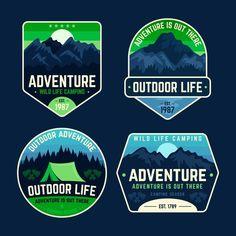 Nature Adventure, Life Is An Adventure, Adventure Travel, Yin Yang, Canoa Kayak, Custom Die Cut Stickers, Custom Birthday Banners, Outdoor Logos, Illustration Story