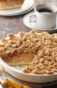Dutch Apple Pie #recipe http://samscutlerydepot.com/product/saber-prime-pronto-magnetic-8-pc-magnetic-wood-block-and-cutlery-set/