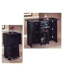 Home Styles Portable Bar - - I want this! Saw this t Christmas tree shop