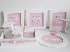 Os ursinhos são perfeitos para a decoração tanto no quarto de menina quanto de menino.