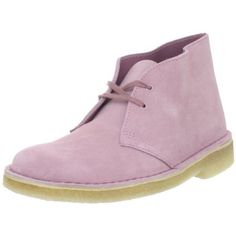 Clarks Women`s Desert Ankle Boot,Pink Suede,6 M US $110.00