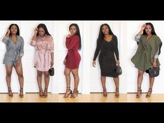 Holiday Party Try on Haul - YouTube