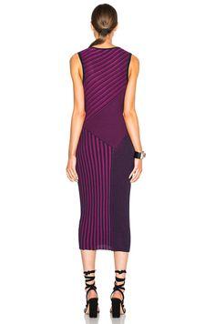 Plaited Rib Dress