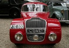 Jawa 750 - 1935 - car at the National Technical Museum of Prague, Czech… Retro Cars, Vintage Cars, Classic Trucks, Classic Cars, Jawa 350, Old Sports Cars, Automobile, Car Logos, Car Badges
