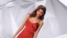 Zendaya for Lancome L'absolu rouge ruby cream lipstick 2019 #zendaya #lancome Zendaya Maree Stoermer Coleman, Zendaya Style, David Koma, Global Brands, Lancome, Fashion Brand, Camisole Top, Brand New, Unique