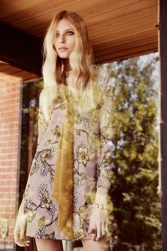Vika Falileeva stars in For Love & Lemons Holiday 2015 lookbook