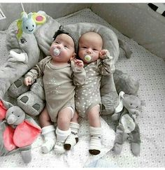 Large Long Nose Elephant Gray Soft Plush Sleep Baby Pillow Toy House to Home Cute Baby Twins, Twin Baby Boys, Twin Babies, Reborn Babies, Babies Pics, Child Baby, Babies Clothes, Baby Doll Bed, Baby Girl Bedding