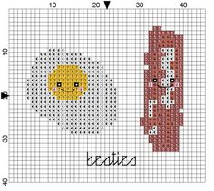 "free chart 'Besties"" cross stitch"