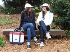 Loving the preppy style with the Vineyard Vines Cornell collection