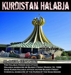 Halabja - #kurdistan #كوردستان #kurdish #kurd #rojava #amed #erbil #mahabad #Halabja // SUPPORT FREE KURDISTAN http://www.kurdishcenter.org