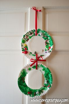We received a fantastic box of free craft supplies from CraftProjectIdeas.com including some fun new materials that were just perfect for creating Simple Toddler Christmas Crafts! It might seem strange that I'm posting such simple projects. I mean, obviously the idea of a paper plate Christmas wreath is not new. But why not share the simple ideas? …