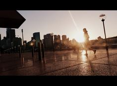 Sydney - sunset in the city