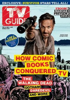 TV Guide Vol. 63 #8: How Comic Books Conquered TV: The Walking Dead, Gotham, Daredevil, And More!