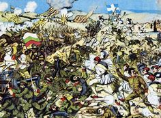 Jun 17, 1913. Greeks stop the Bulgarian advance towards Thessaloniki. Greek Gen. Staff orders counter attack for the next day. Macedonia, Greece