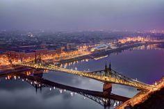 https://flic.kr/p/PKiArZ   Liberty bridge in dawn-Good Morning Budapest
