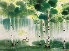 江蘇畫家吳冠中(1919--2010)