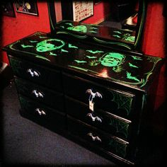 Dresser with Bat Handles from Spitfire Interiors