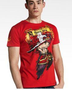 DOTA 2 Juggernaut Tshirt Defense of the ancients Red Tee Dota 2 T Shirt, Dota2 Heroes, Defense Of The Ancients, Cool T Shirts, Shirt Designs, Cotton Fabric, Tees, Casual, Mens Tops