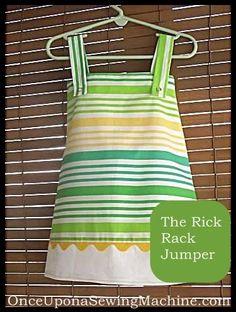 DIY Ric Rac : DIY The Rick Rack Jumperts