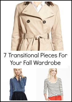 7 TRANSITIONAL PIECES FOR YOUR FALL WARDROBE