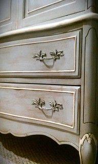 annie sloan chalk paint paris grey cabinets - Google Search